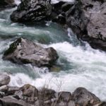 the flowing of the Selway River