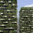 Now under construction is the Bosco Verticale or Vertical Forest, the first phase of BioMilano, a re-envisioning of Milan, Italy, with an eye toward ecological urbanism, integrating tree and skyscraper, city and wild.