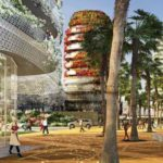 French-Designed Flower Towers Planned for Casablanca