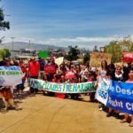 Hands Across the Harbor: LA Residents Protest Dirty Fossil Fuels in Port and Beyond