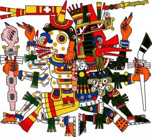 Lord of Mictlan, Plumed Serpent, Aztec Stories