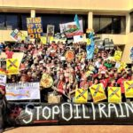 Students Travel Across California to Stop Tar Sands Oil Trains
