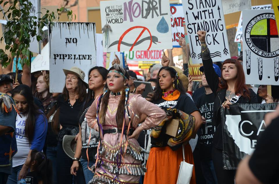 NoDAPL Los Angeles, Mike Chickey