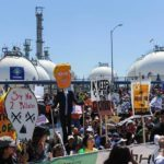 People's Climate March in LA Harbor Highlights Tesoro's Dangerous Operations