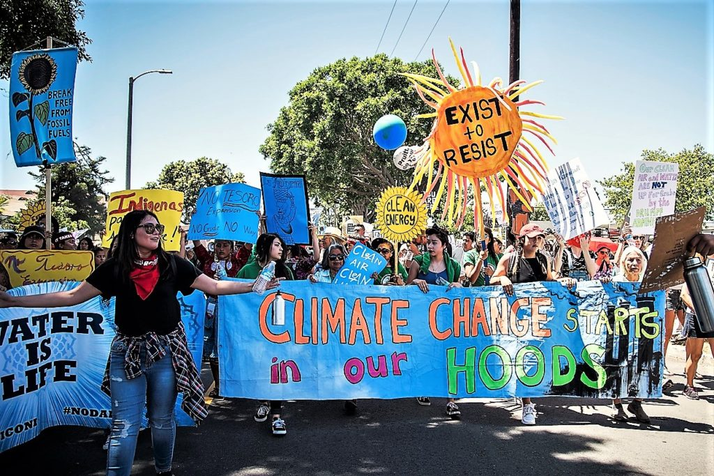 People's Climate March Los Angeles, Hannah Benet