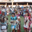 On the plains of Montana, down the hill from the Little Bighorn National Monument, is the annual Crow Fair. Thousands of tipis are set up along the Little Bighorn River, said to be the largest gathering in the world. As well, an array of Native American singers and dancers appear over the four-day event in late August.