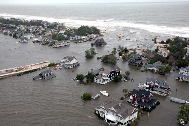 extreme weather, climate change, New Jersey, Hurricane Sandy