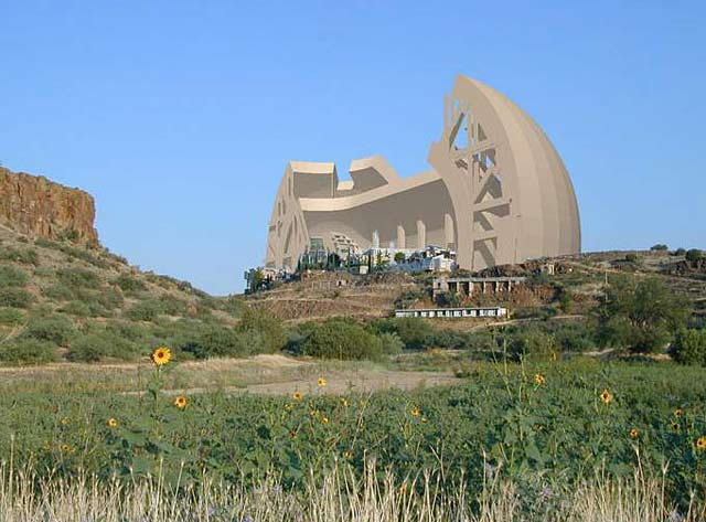 arcology, sustainability, Arizona