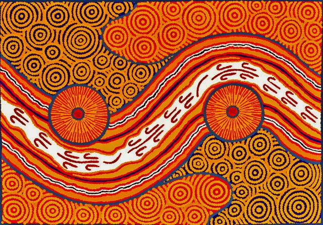 dreamtime, Australian aboriginal art