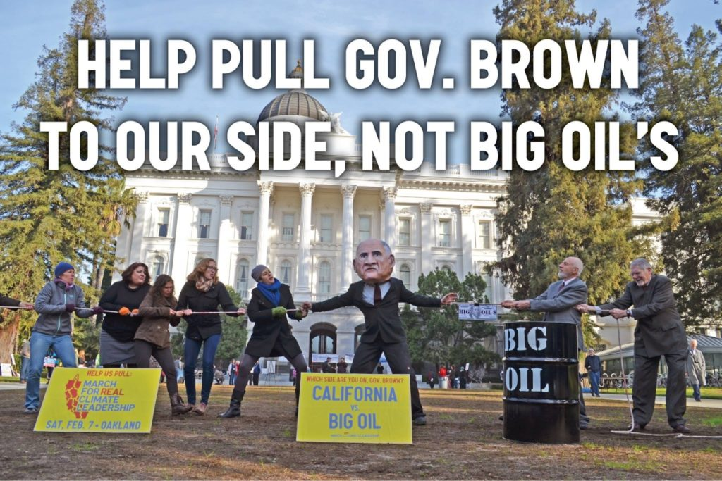 Governor Jerry Brown, Fracking, Big Oil