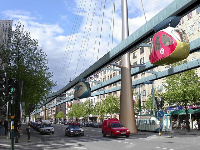 pod cars, Personal Rapid Transit