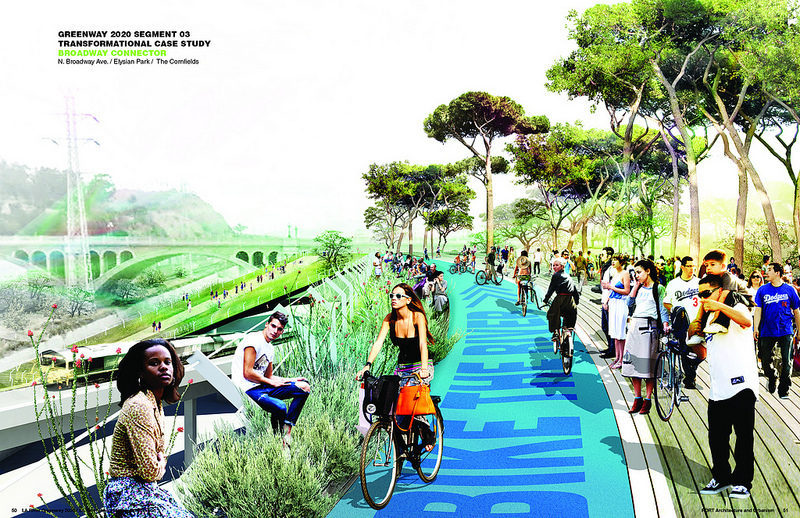 Greenway 2020, Los Angeles River
