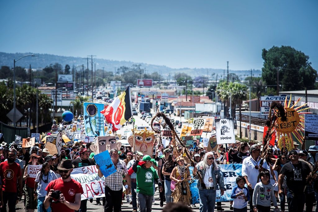 People's Climate March, Los Angeles