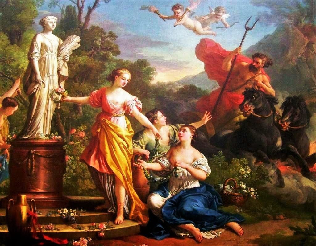 Proserpina, Ceres, Pluto, Roman Mythology