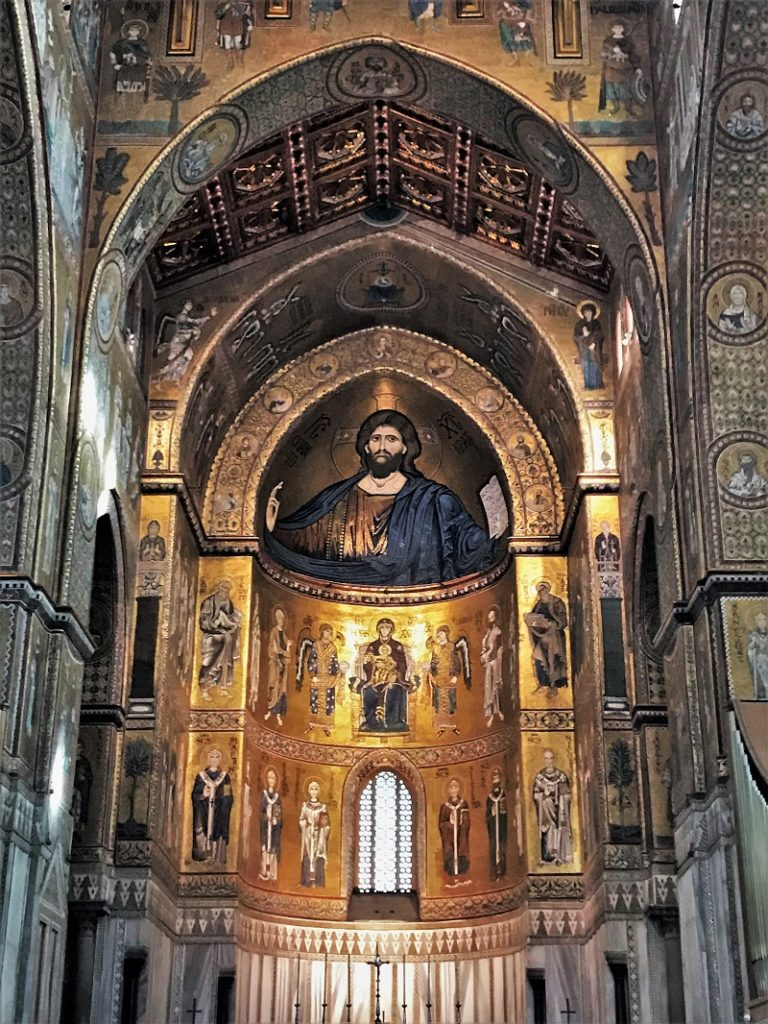 Monreale Cathedral, Sicily, mosaics