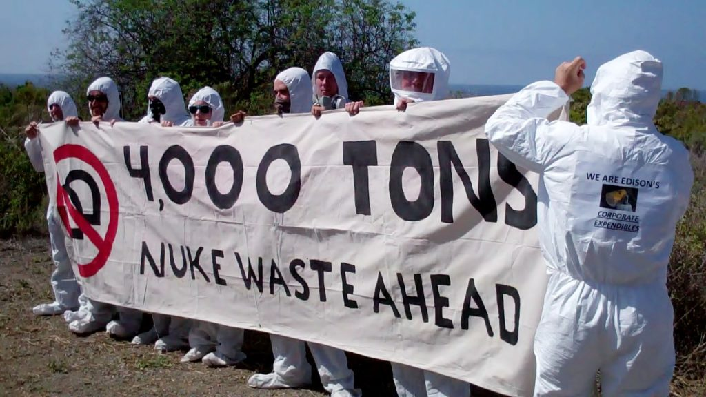 Nuclear Waste protest San Diego